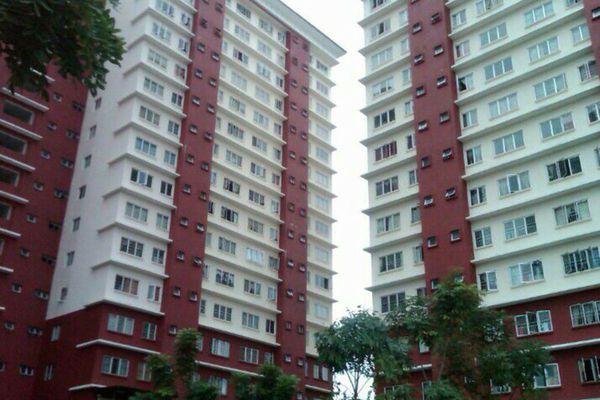 For Sale Apartment at The Lumayan, Bandar Sri Permaisuri Leasehold Semi Furnished 3R/2B 375k