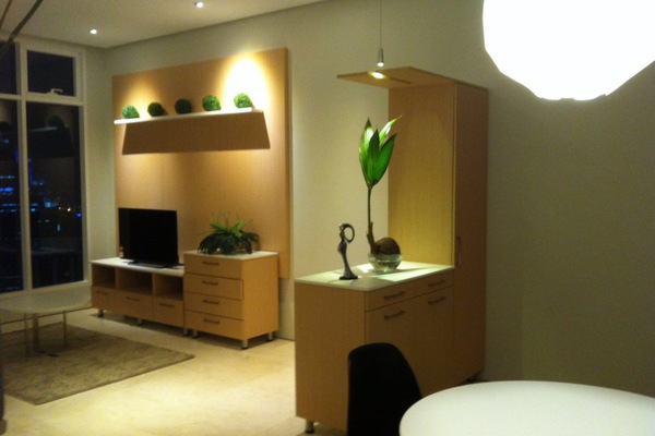 For Sale Condominium at Soho Suites, KLCC Freehold Semi Furnished 2R/1B 1.15m