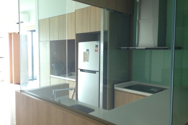 For Sale Condominium at The Leafz, Sungai Besi Freehold Semi Furnished 2R/2B 750k