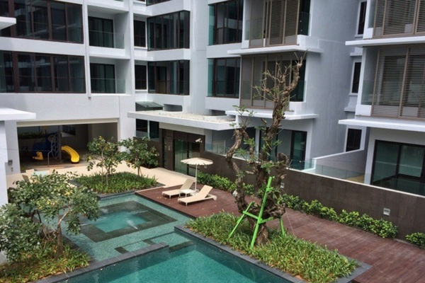 For Sale Condominium at Sastra U-Thant, Ampang Hilir Freehold Semi Furnished 4R/2B 2.2m