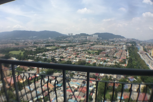 For Sale Condominium at Pandan Villa, Pandan Indah Leasehold Semi Furnished 3R/2B 440k
