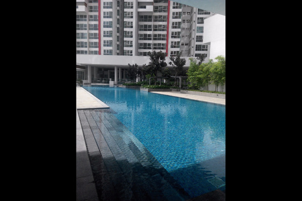 For Sale Condominium at Seringin Residences, Kuchai Lama Freehold Semi Furnished 4R/3B 970k