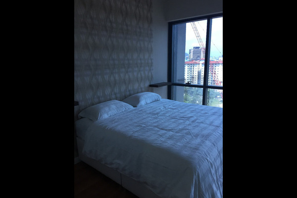 For Rent SoHo/Studio at The Elements, Ampang Hilir Freehold Semi Furnished 0R/1B 1.6k