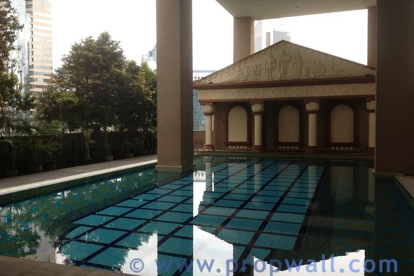 For Rent Condominium at Maytower, Dang Wangi Freehold Semi Furnished 0R/1B 1.5k