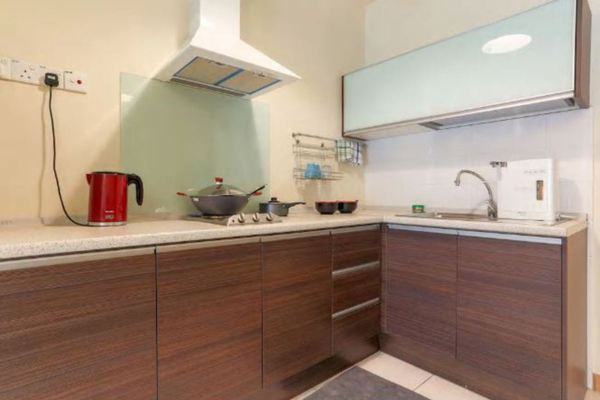 For Rent Condominium at Seri Bukit Ceylon, Bukit Ceylon Freehold Semi Furnished 1R/1B 2.8k