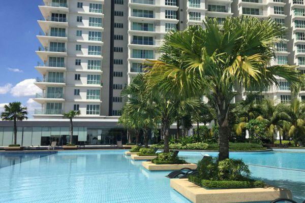 For Rent Condominium at Le Yuan Residence, Kuchai Lama Freehold Semi Furnished 2R/1B 2.2k