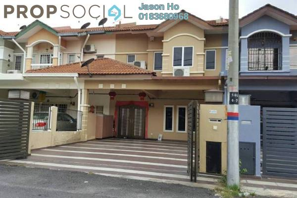 For Sale Terrace at Bandar Puteri Klang, Klang Freehold Semi Furnished 4R/3B 660k