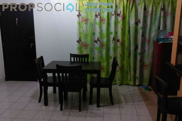 For Rent Condominium at Endah Ria, Sri Petaling Leasehold Fully Furnished 3R/2B 1.3k
