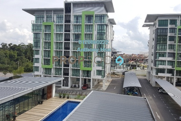 For Sale Condominium at Tribeca, Kuching Freehold Semi Furnished 3R/2B 750k