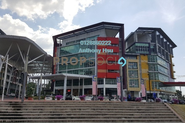 For Rent Office at iCom Square, Kuching Freehold Unfurnished 0R/2B 5k