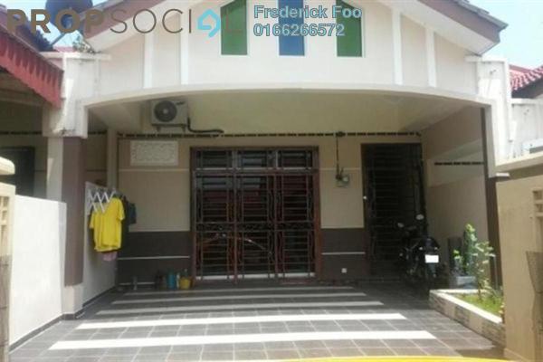 For Sale Terrace at Bandar Putra Bertam, Penang Freehold Semi Furnished 3R/2B 330k
