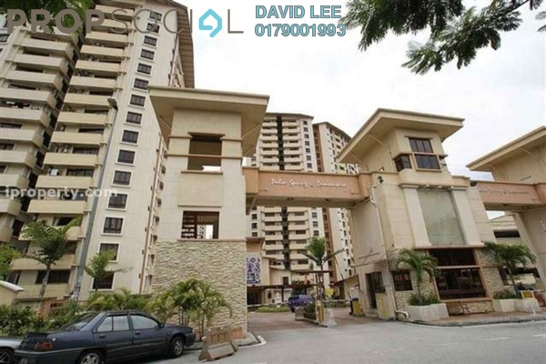 For Rent Condominium at Palm Spring, Kota Damansara Leasehold Fully Furnished 3R/2B 1.6千