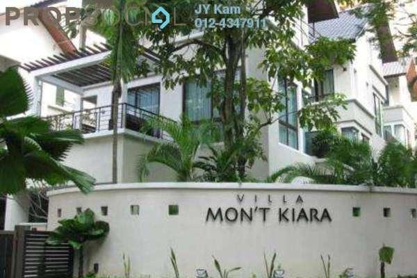 For Sale Bungalow at Villa Mont Kiara, Mont Kiara Freehold Semi Furnished 4R/5B 4.5m