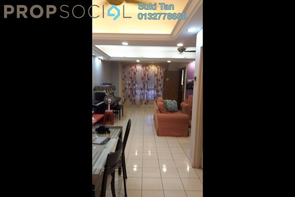 For Sale Terrace at Taman Megah, Kepong Freehold Semi Furnished 4R/3B 980k