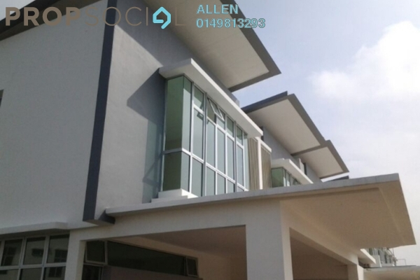 For Rent Terrace at Nusa Sentral, Iskandar Puteri (Nusajaya) Freehold Unfurnished 4R/3B 2.5k