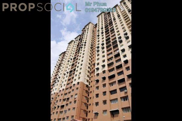 For Sale Apartment at Puncak Terubong, Farlim Leasehold Semi Furnished 3R/2B 295k