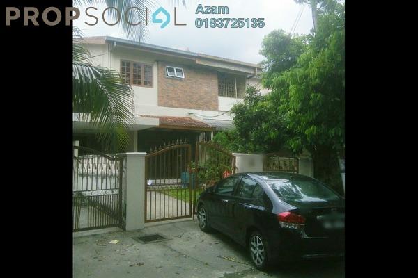 For Sale Terrace at Taman Permata, Wangsa Maju Freehold Semi Furnished 4R/3B 950k