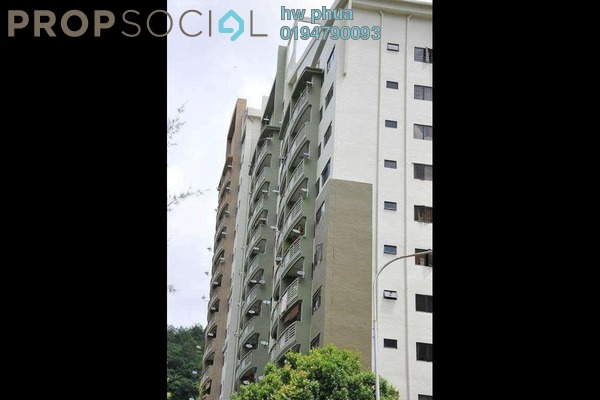 For Rent Apartment at Lakeside Tower, Bukit Jambul Leasehold Fully Furnished 3R/2B 1.5k