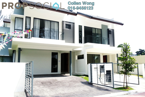 For Sale Terrace at Bandar Country Homes, Rawang Freehold Unfurnished 4R/3B 638k