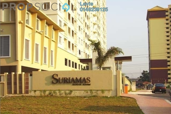 For Rent Condominium at SuriaMas, Bandar Sunway Leasehold Fully Furnished 4R/2B 2.3k