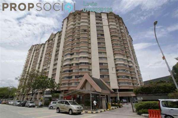 For Rent Condominium at De Tropicana, Kuchai Lama Leasehold Semi Furnished 3R/2B 1.4k