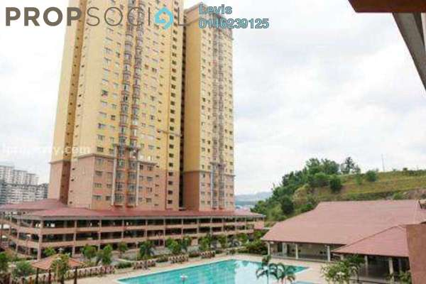 For Rent Condominium at Angkasa Condominiums, Cheras Freehold Fully Furnished 3R/2B 1.7k