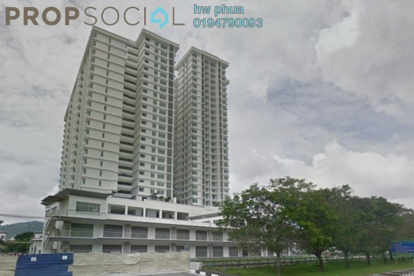 For Sale Condominium at Promenade Residence, Bayan Baru Leasehold Unfurnished 3R/2B 650k