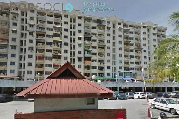 For Sale Apartment at Taman Kilangin, Georgetown Freehold Unfurnished 3R/1B 390k