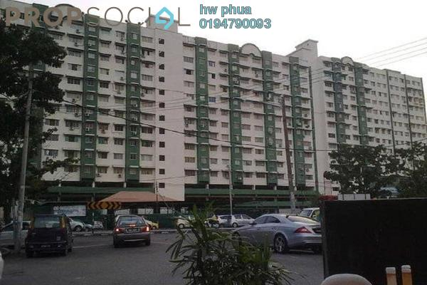 For Sale Condominium at Nibong Indah, Sungai Nibong Freehold Semi Furnished 3R/2B 338k