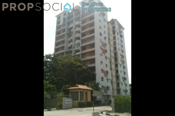 For Sale Apartment at Taman Sri Nibong, Sungai Nibong Freehold Semi Furnished 3R/2B 470k