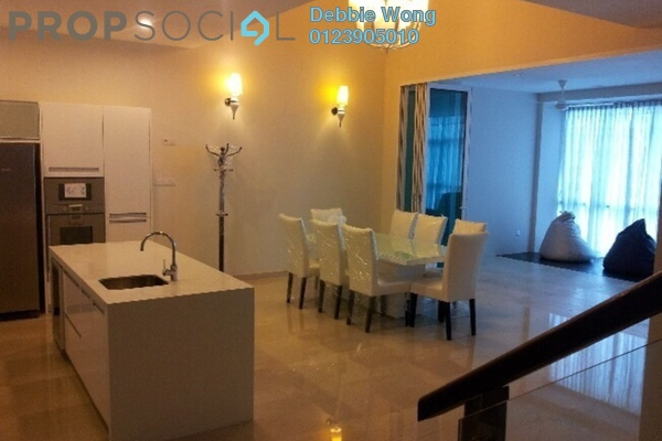 For Rent Condominium at Sunway Vivaldi, Mont Kiara Freehold Semi Furnished 4R/5B 11k