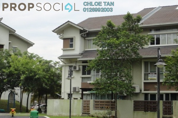 For Rent Townhouse at Meranti Terrace, Kota Kemuning Freehold Unfurnished 4R/3B 1.5千