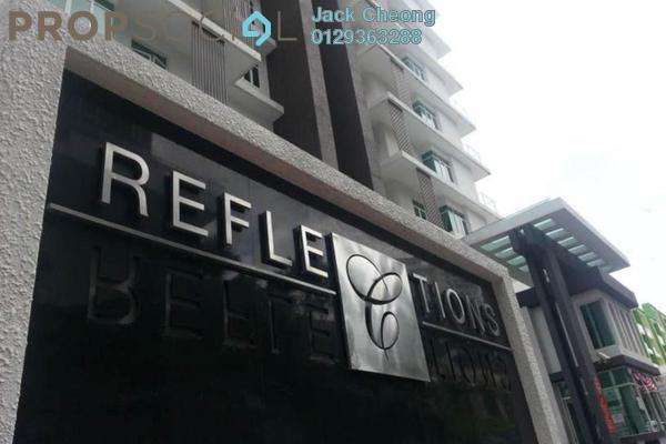 For Sale Condominium at Reflections, Sungai Ara Freehold Unfurnished 3R/2B 645k