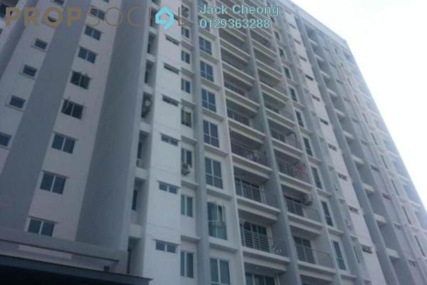 For Rent Condominium at Capri Park, Butterworth Freehold Semi Furnished 3R/2B 1.1k