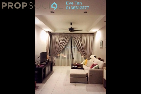 For Sale Condominium at The Tamarind, Sentul Freehold Semi Furnished 3R/2B 599k