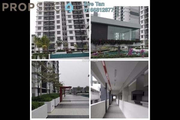 For Sale Condominium at Ivory Residence, Kajang Freehold Semi Furnished 3R/2B 375k