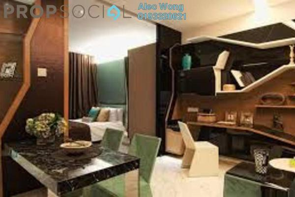 For Rent Condominium at VERVE Suites, Mont Kiara Freehold Fully Furnished 1R/1B 2.5k