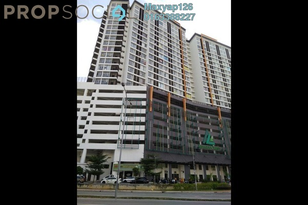For Sale SoHo/Studio at Avenue Crest, Shah Alam Freehold Unfurnished 0R/1B 300k