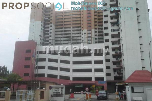 For Rent Condominium at Sinar Bukit Dumbar, Gelugor Freehold Fully Furnished 3R/2B 1.5k