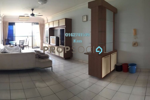 For Sale Condominium at Anjung Hijau, Bukit Jalil Freehold Fully Furnished 3R/2B 550k