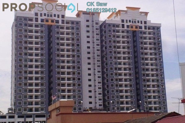 For Rent Condominium at Park 51 Residency, Petaling Jaya Leasehold Semi Furnished 4R/2B 1.85k