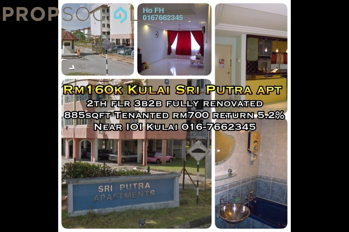 Apartment For Sale at Taman Lagenda Putra, Kulai by Ho FH