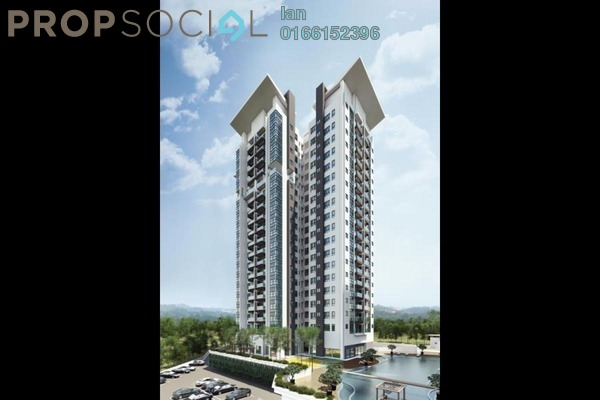For Sale Condominium at Parc Ville, Bandar Puchong Jaya Freehold Unfurnished 3R/2B 569k