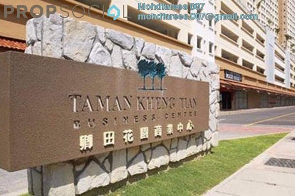 For Sale Condominium at Taman Kheng Tian, Jelutong Freehold Semi Furnished 3R/2B 385k