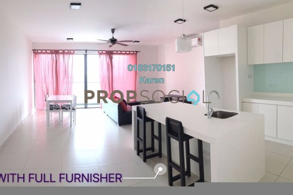 For Rent Serviced Residence at Cristal Residence, Cyberjaya Freehold Fully Furnished 3R/2B 2.4k