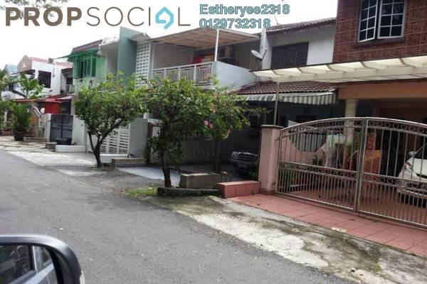 For Sale Terrace at Pandan Jaya, Pandan Indah Leasehold Semi Furnished 3R/2B 500k
