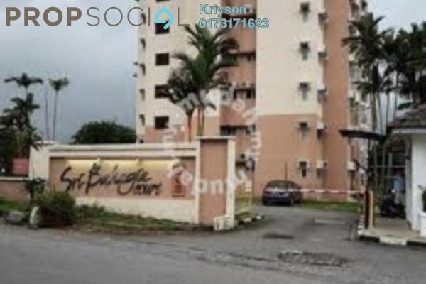 For Sale Condominium at Taman Sri Bahagia, Cheras South Leasehold Semi Furnished 3R/2B 334k