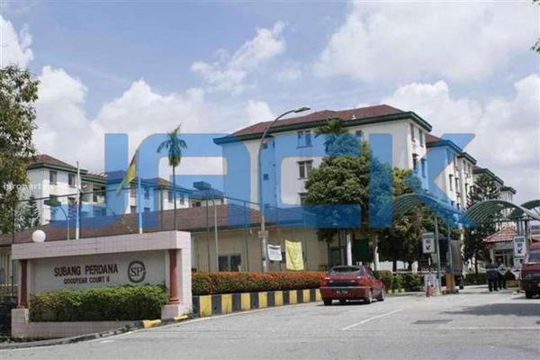 For Sale Apartment at Goodyear Court 4, UEP Subang Jaya Freehold Unfurnished 2R/1B 175k
