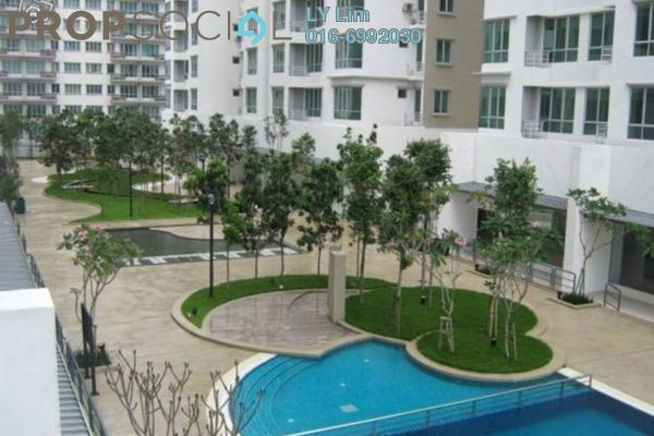 For Rent Condominium at Casa Tiara, Subang Jaya Freehold Fully Furnished 3R/2B 2.3k