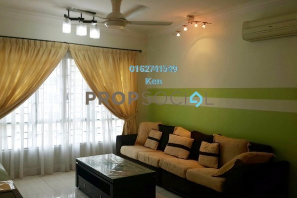 For Sale Condominium at Green Avenue, Bukit Jalil Freehold Semi Furnished 3R/2B 600k